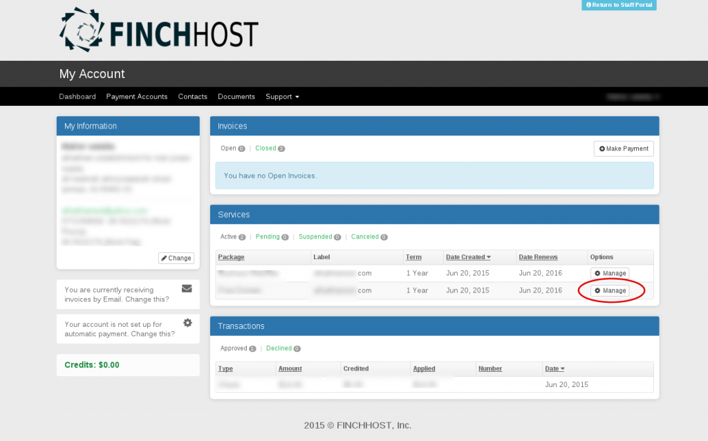 finchhost-select-domain